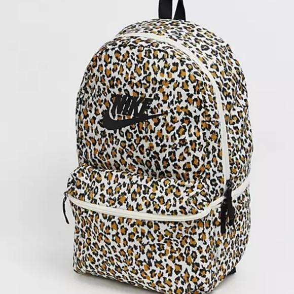 Nike Heritage Cheetah Print Full Size Backpack